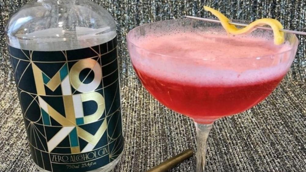 Non-Alcoholic Clover Club Cocktail Recipe