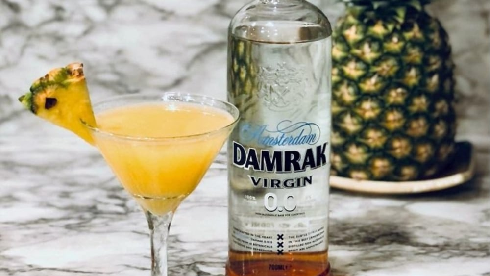 Non-Alcoholic Damrak Virgin Hawaiian Orange Blossom Recipe