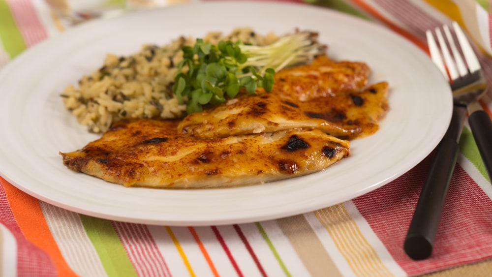 Image of Tangy Broiled Tilapia
