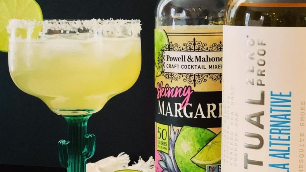 Virgin Non-Alcoholic Margarita Mocktail Recipe