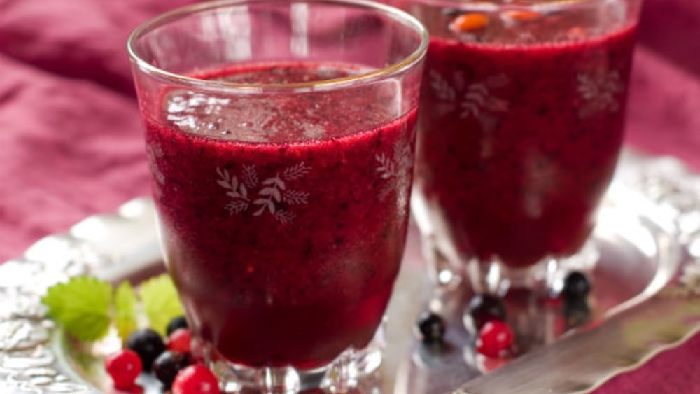 Image of Gracious Living Cranberry Bliss Smoothie