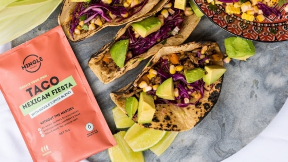 Image of Mingle's Quick, Easy and Healthy Tacos
