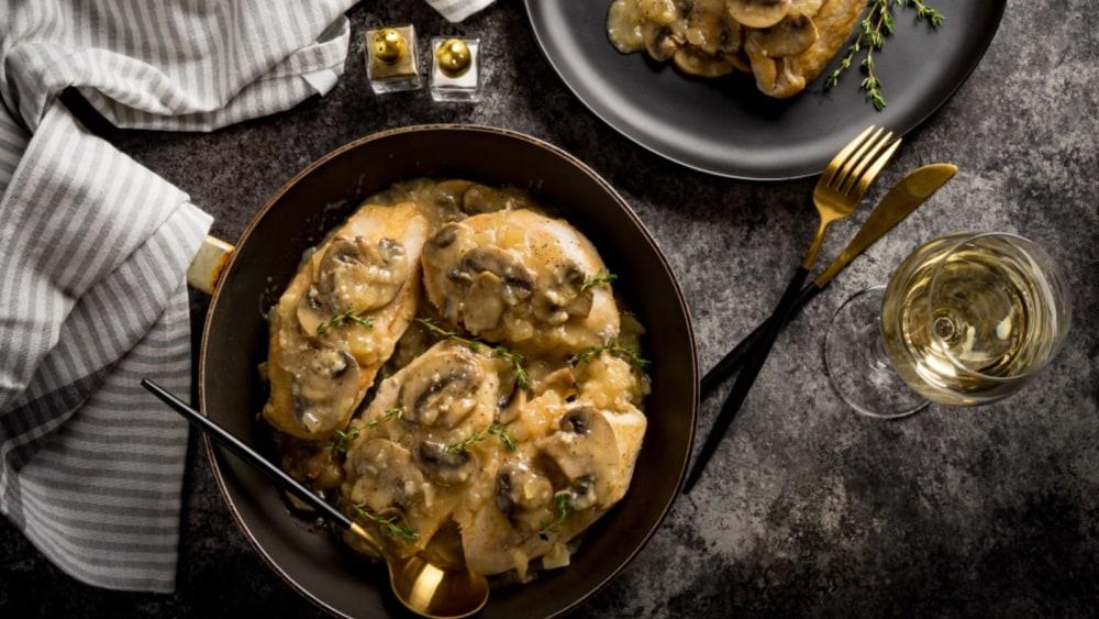 Image of Chicken with Mushroom Sauce