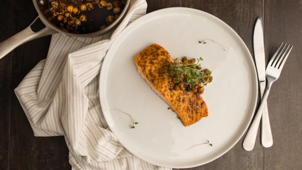 Image of Hazelnut Brown-Butter Salmon