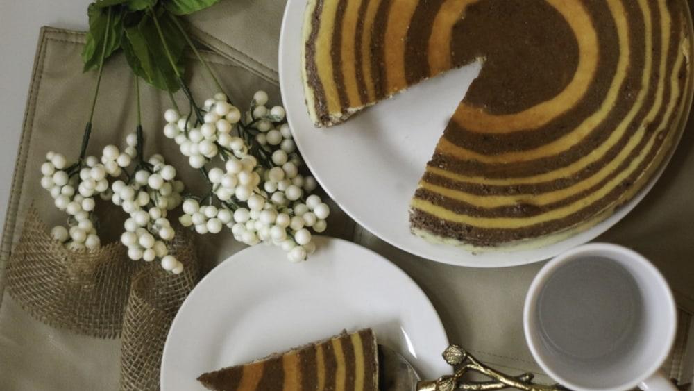 Image of Zebra Cheesecake