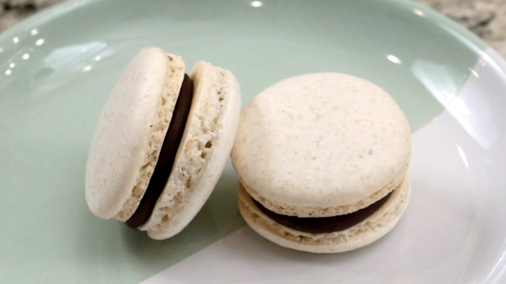 Image of French Macarons with Chocolate Ganache