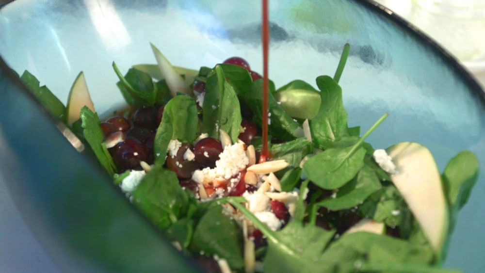 Image of Rockport Salad with Pomegranate Vinaigrette