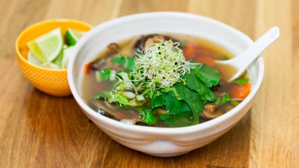 Image of Mushroom Detox Soup