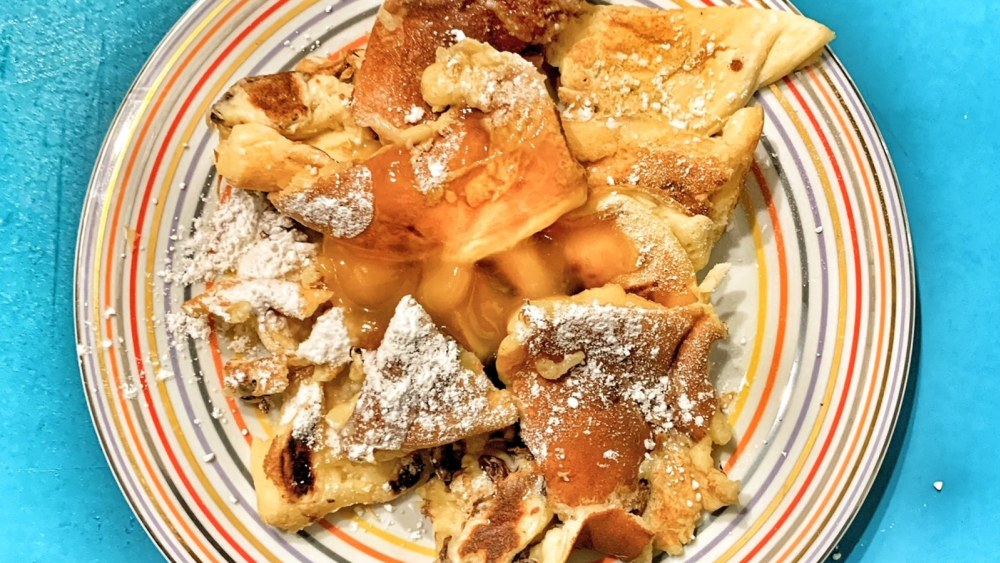 Image of Kaiserschmarrn with French lemon curd