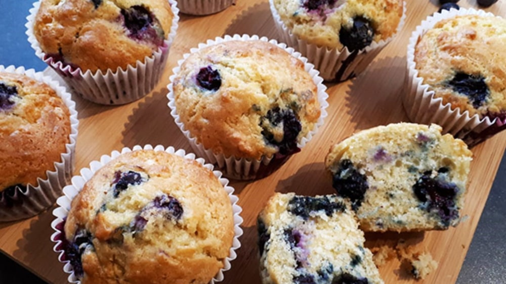Image of Mini Blueberry Muffin