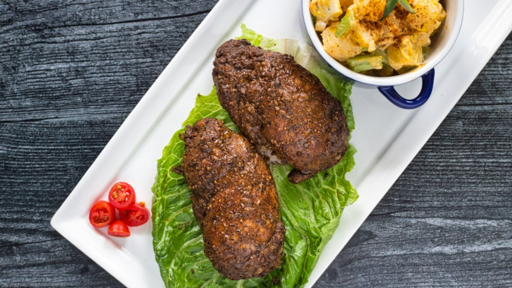 Image of Crispy Baked Baharat Chicken