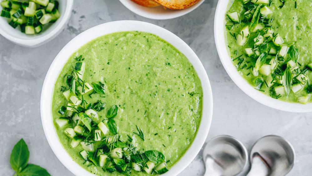 Image of Gracious Living Creamy Pineapple Cilantro Soup