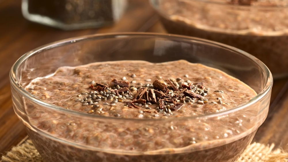 Image of Sunwarrior Chia Pudding in Chocolate and Butterscotch!