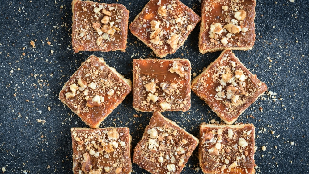 Image of Anti-Stress Vegan Lemon Protein Squares