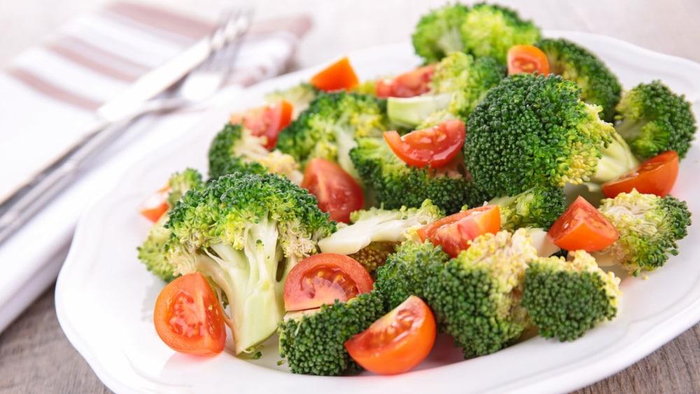 Image of Raw Vegan Summer Recipe Fresh Broccoli Salad