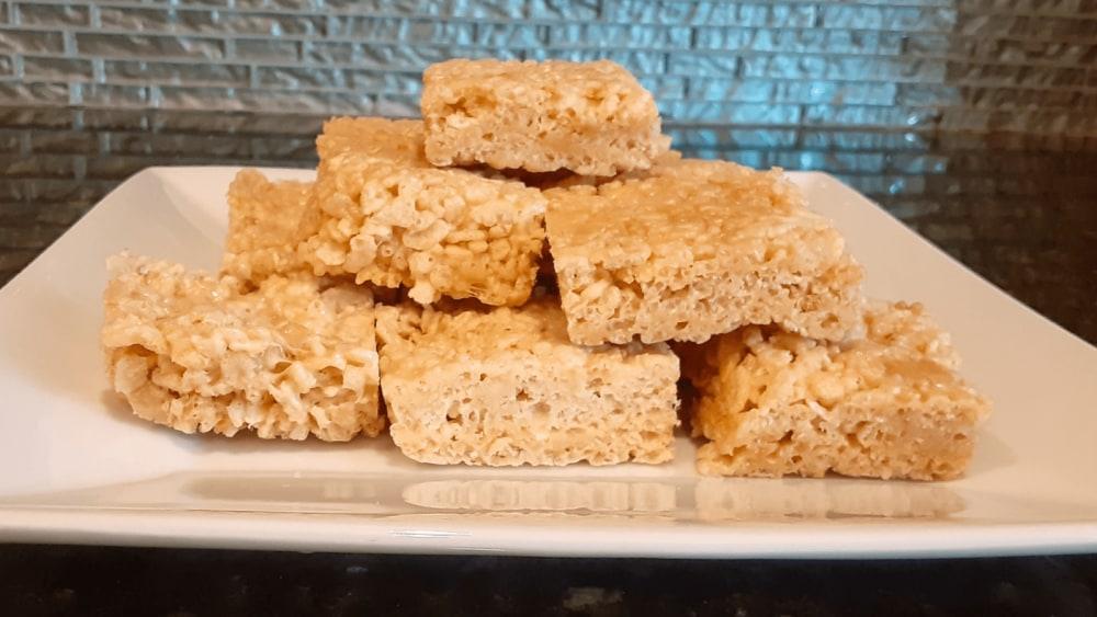 Image of Peanut Butter Rice Krispy Treats