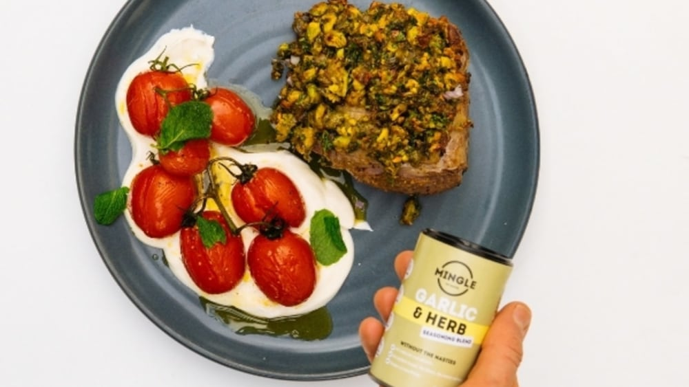 Image of Mingle's Herb Crusted Lamb