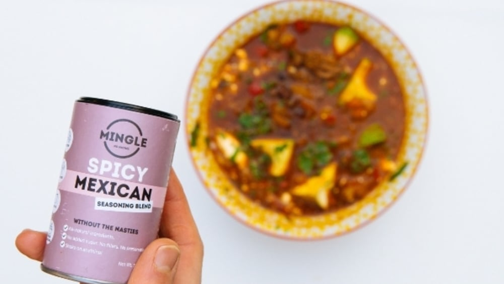 Image of Mingle's Mexican Beef And Bean Soup