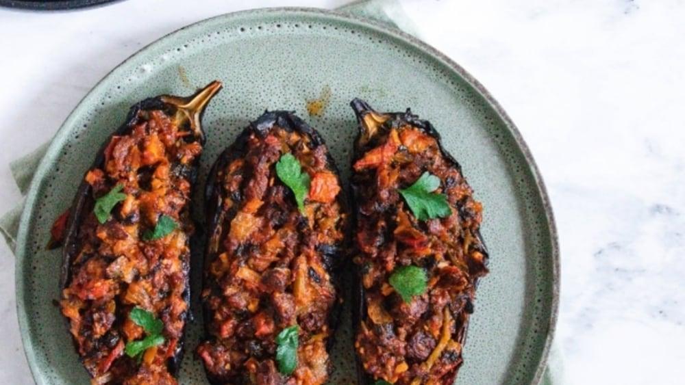 Image of Smokey Baked Eggplant Fable x Mingle