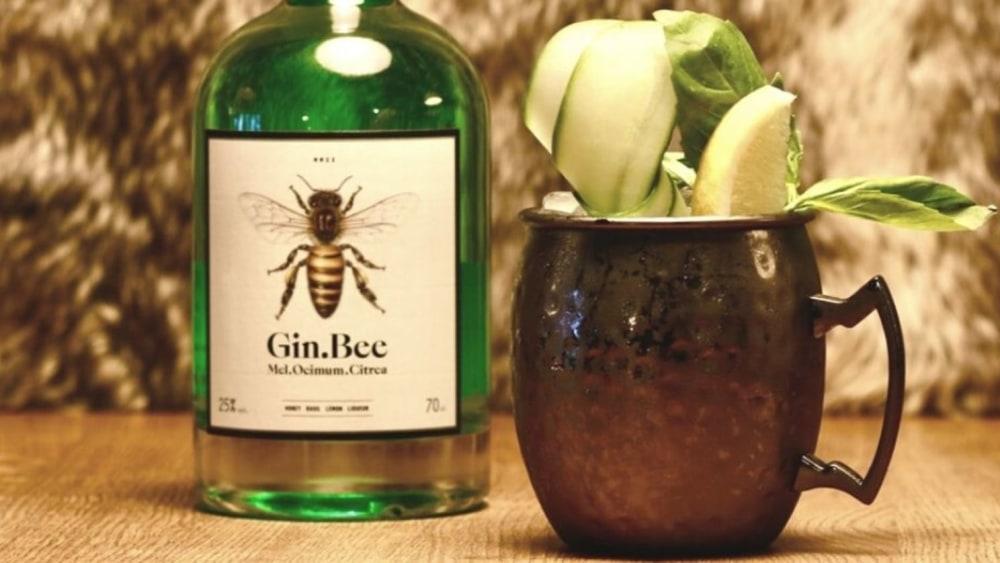Gin Bee Mule