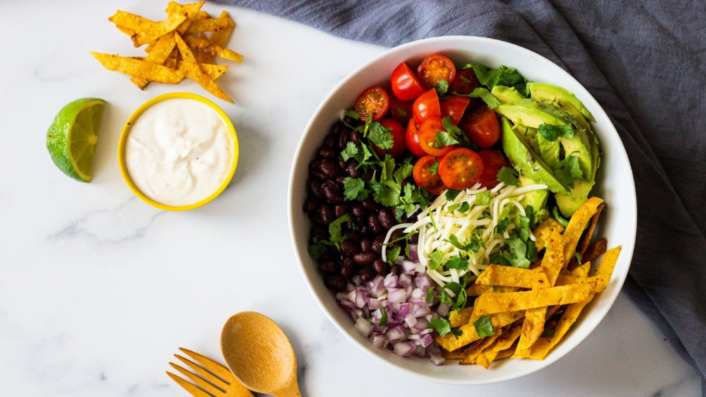 Image of Healthy Crunchy Taco Salad Bowls