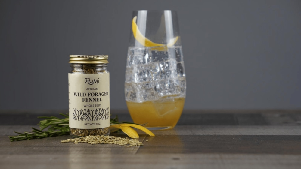 Image of Fen & Tonic Cocktail with Fennel Simple Syrup
