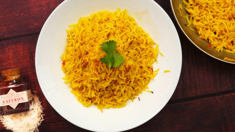 Easy Saffron Rice