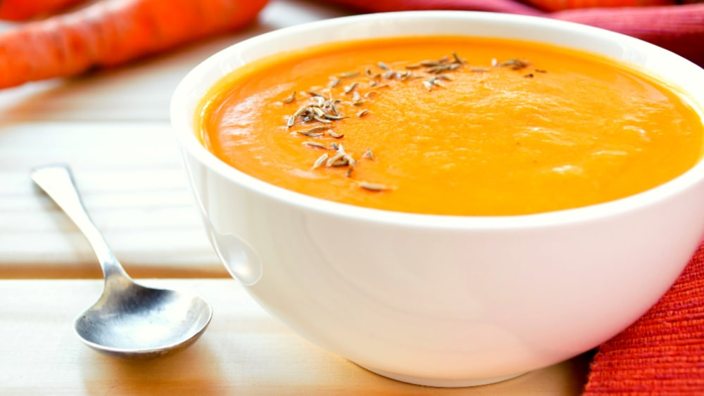 Image of Easy Cumin and Carrot Soup
