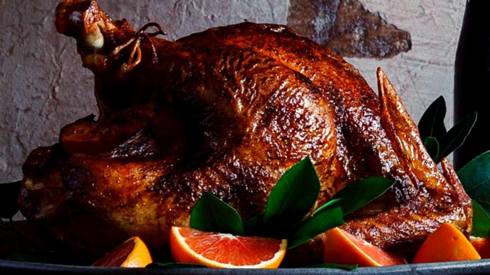 Image of Roasted Berbere-spiced Turkey with Orange Aioli