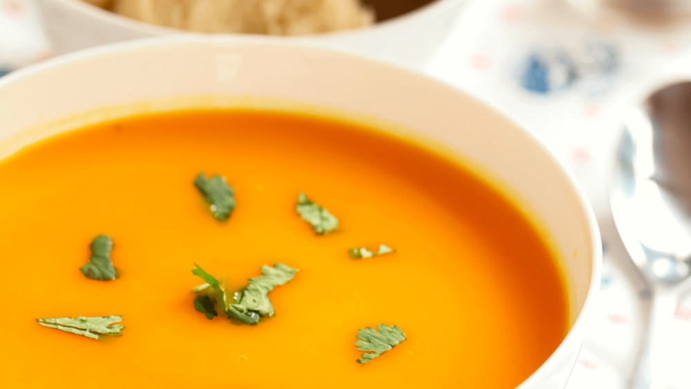 Image of Roasted Carrot Curry Soup