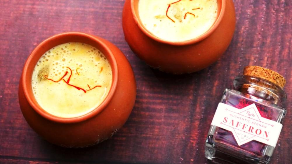Image of Saffron Almond Milk (Kesar Badam Doodh)