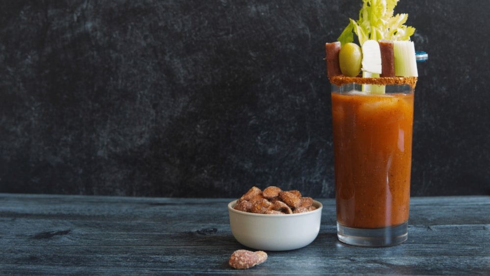 Image of Rumi Bloody Mary Spiced with Paella Seasoning