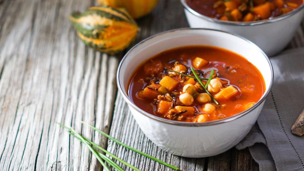 Image of Vegan Pumpkin Chili Recipe