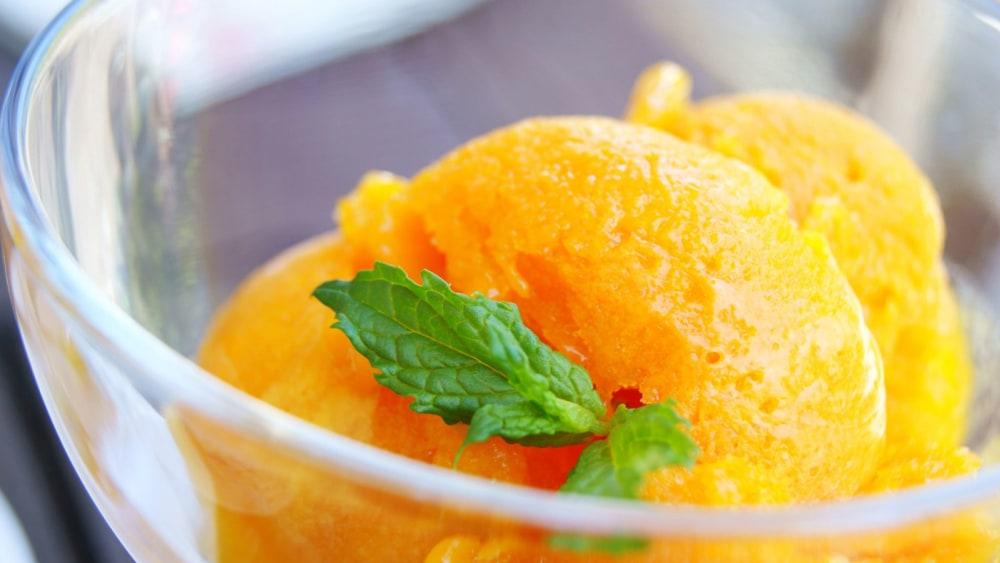 Image of Deliciously Creamy Sapote Sorbet