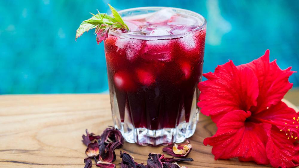 Image of Quick Easy Vegan Recipe: Hibiscus Energy Tea