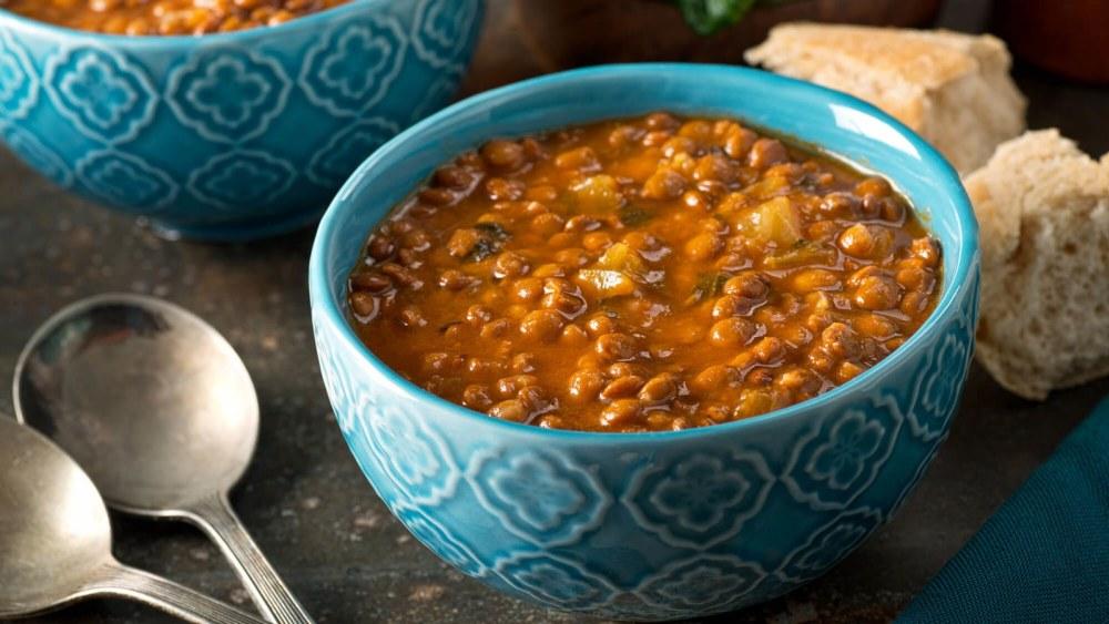 Image of Hearty Vegan Lentil Soup Recipe