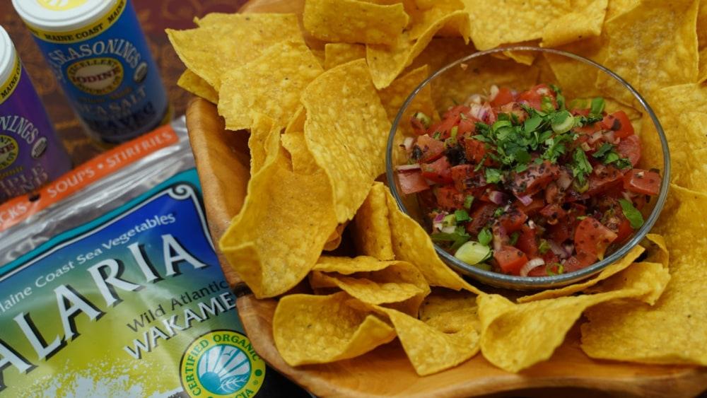 Image of Fresh Salsa with Alaria Recipe