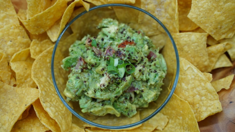 Image of Sea Zesty Guacamole Recipe