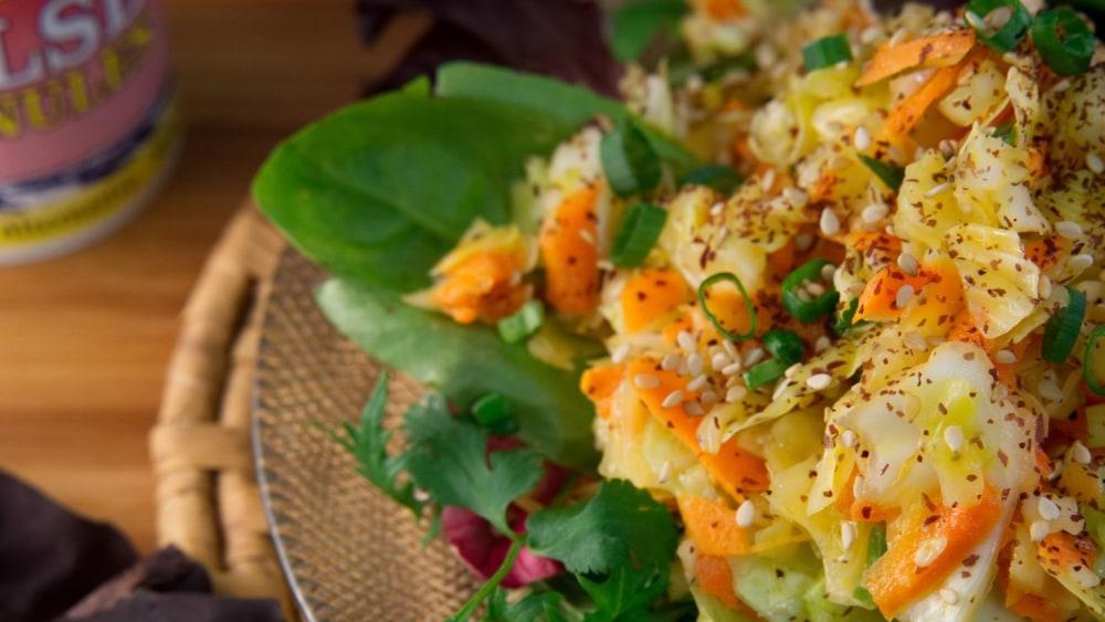 Image of Asian Sea Slaw Recipe