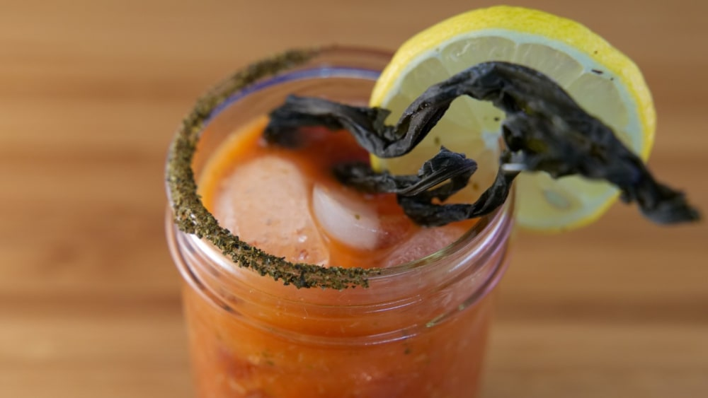 Image of Spicy Kelp Bloody Mary Recipe
