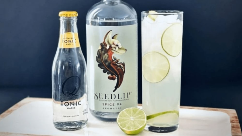 Non-Alcoholic Gimlet Recipe with Seedlip Spice 94