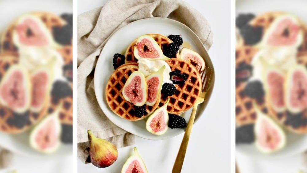 Image of Vanilla Protein Waffles