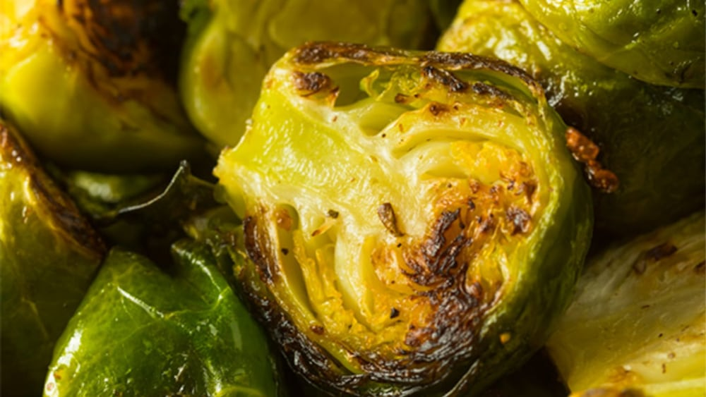 Honey Roasted Garlic Brussel Sprouts