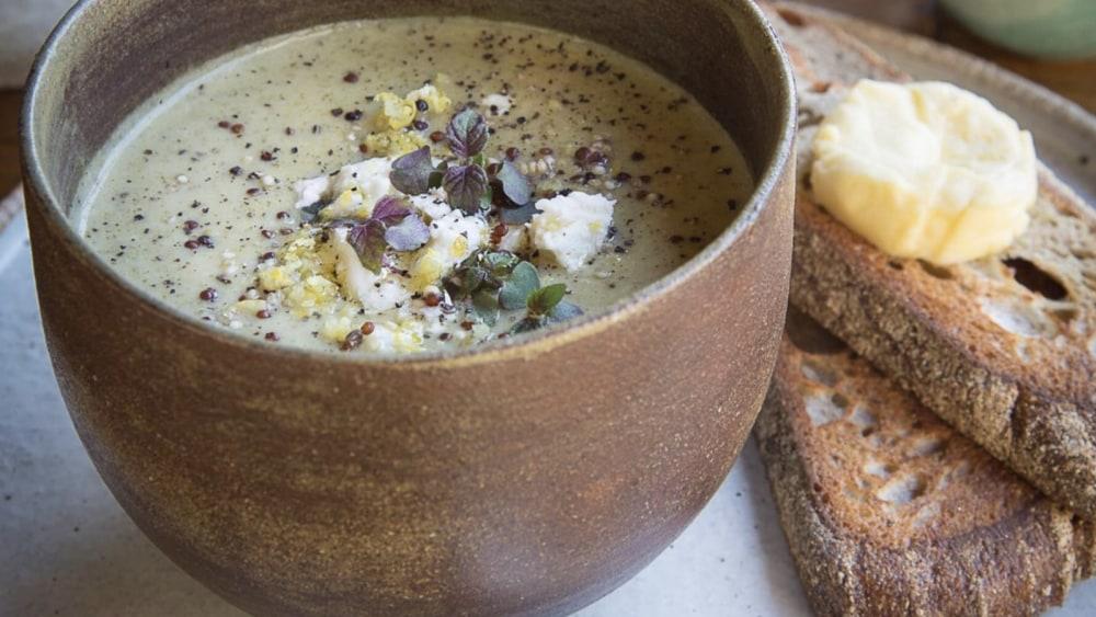 Epicure Broccoli, Lemon & Feta Soup
