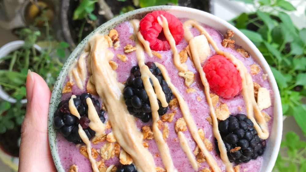 Image of Frozen Banana Smoothie Bowl