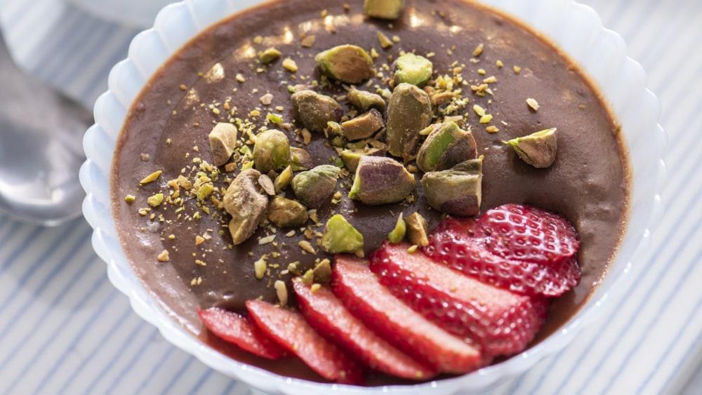 Image of Vegan Chocolate Custard