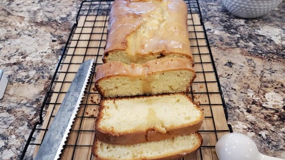 Gluten Free Vanilla Pound Cake