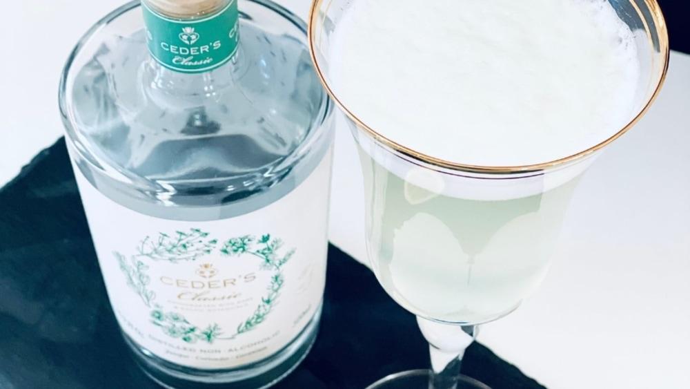 Ceder's Non-Alcoholic Gin Fizz Recipe