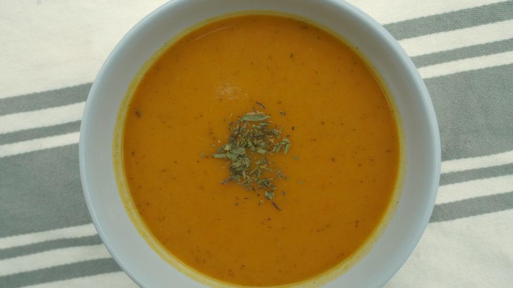 Image of Creamy Carrot Soup Recipe