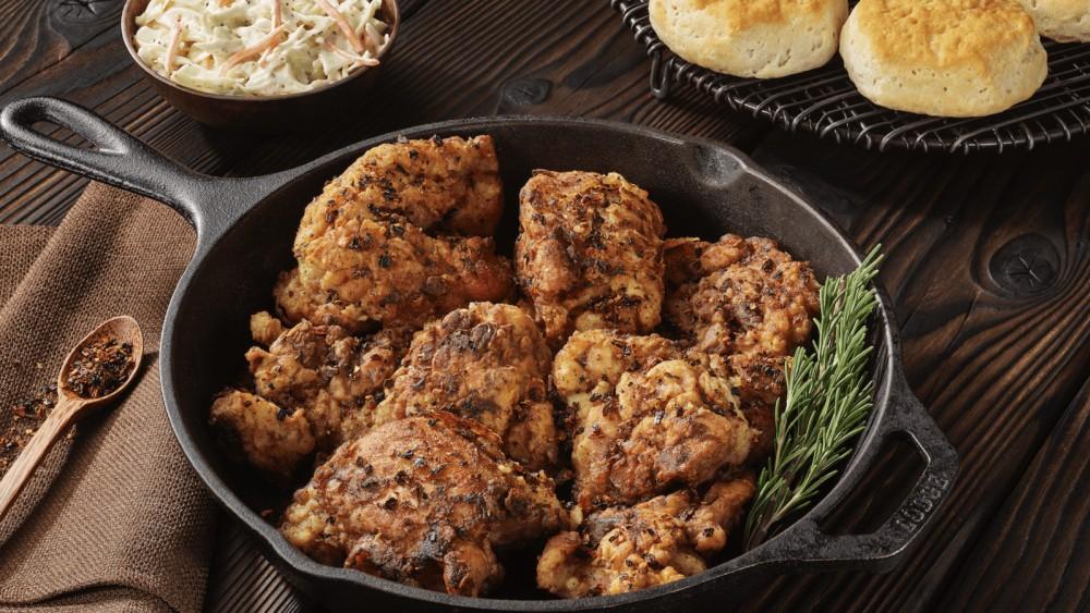 Image of Cast Iron - Fried Chicken with Dark & Smoky
